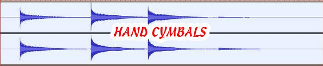 18 HAND CYMBALS 432 Hz