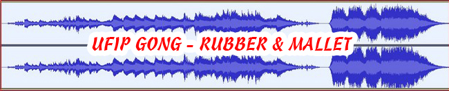 9 UFIP GONG - RUBBER + MALLET 432 Hz