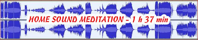 HOME SOUND MEDITATION 432 Hza