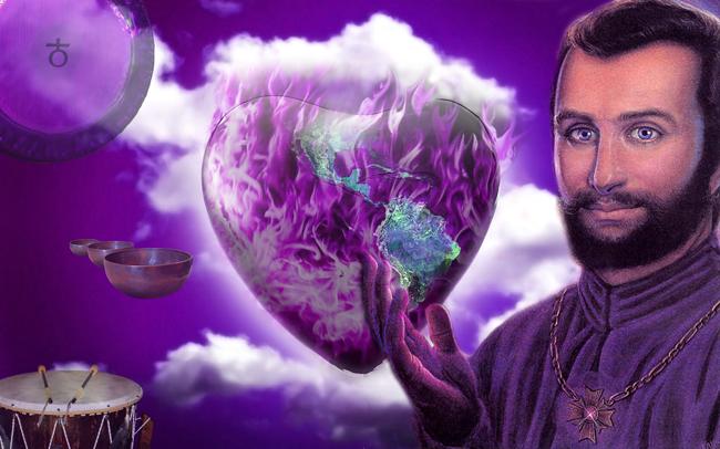 heart_earth---violet-flame---Saint-Germain-+-gong-+-tibetanske-+-pow-wow